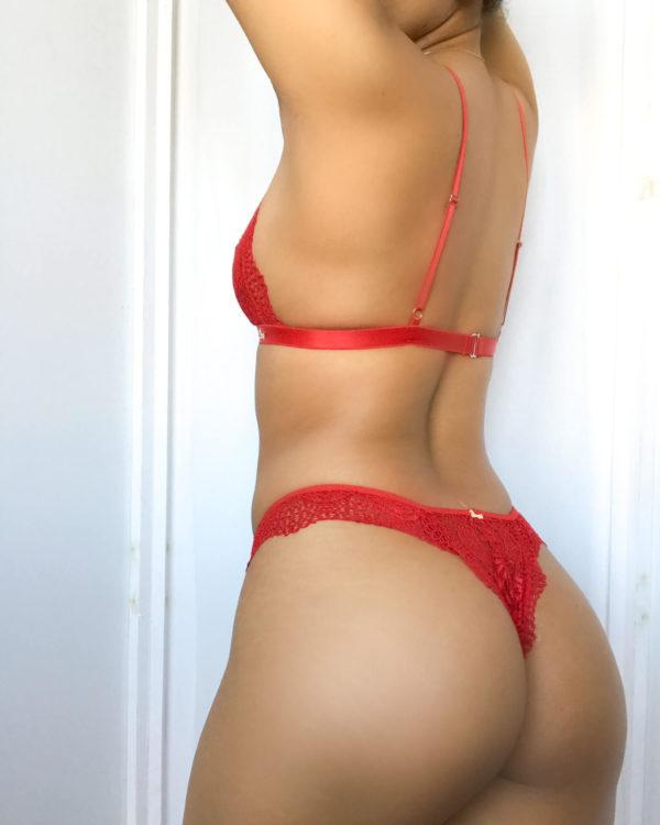Slip brasiliano Marianna rosso